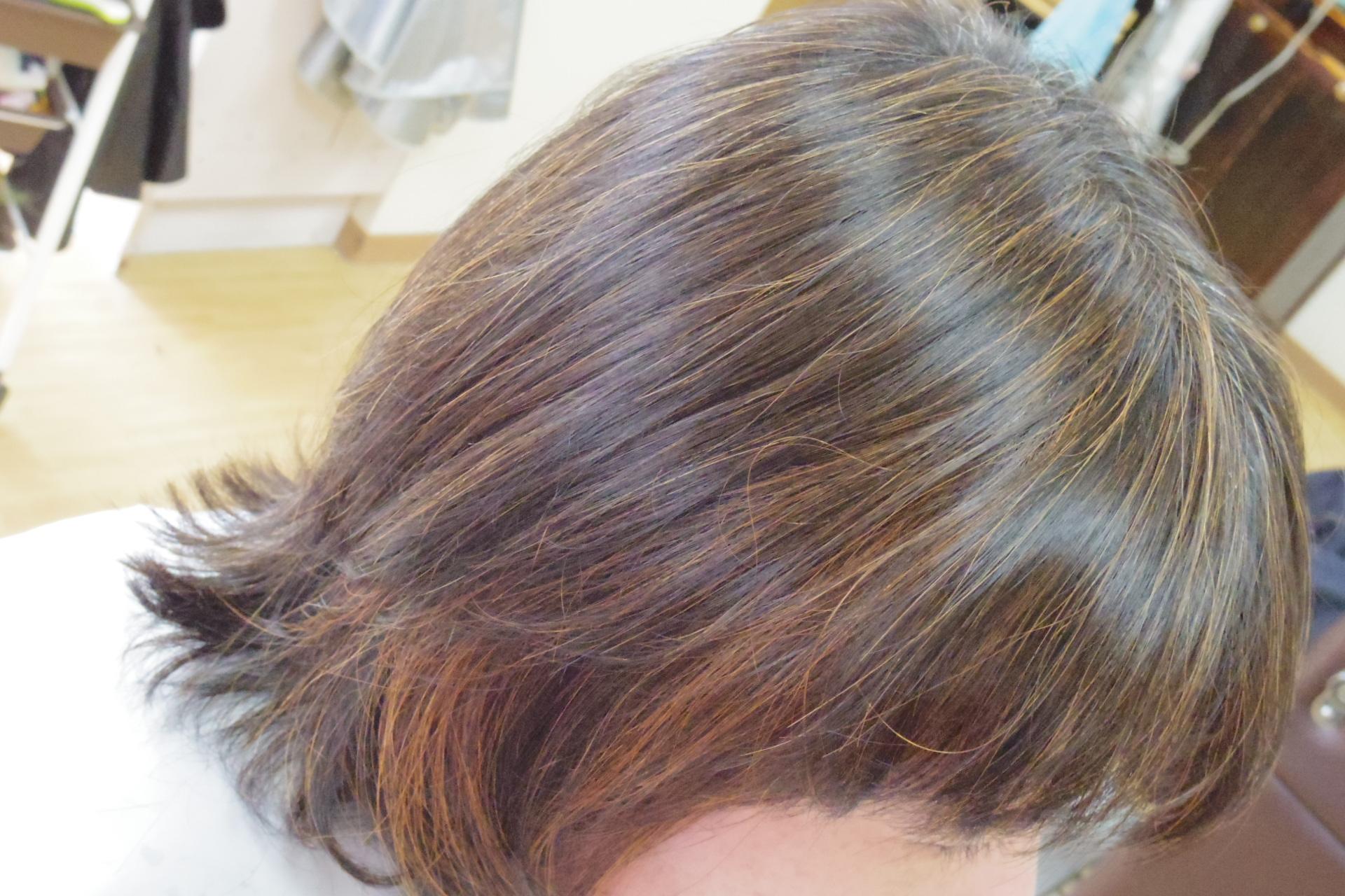 白髪染め ヘナ