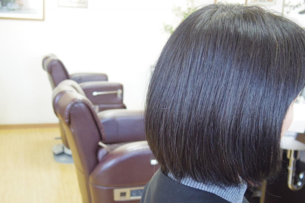 髪を普通の健康毛にしてくれるハナヘナ