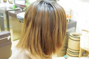 髪に何もついていないパサついた傷んだ髪の毛