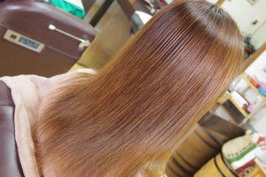 ロングのヘナ毛