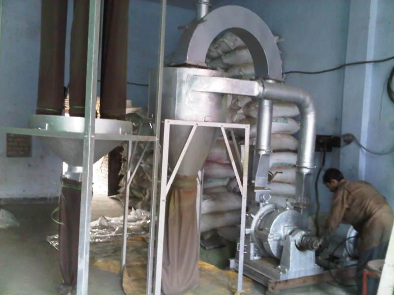 製粉をする機械